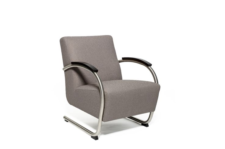 low back armchair Parma