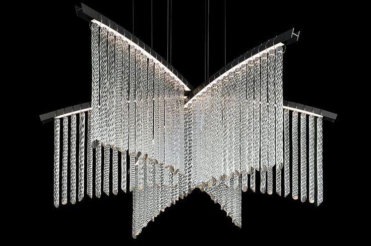 Calvi Brambilla Collection   Palmyra, chandelier for Barovier&Toso   2015
