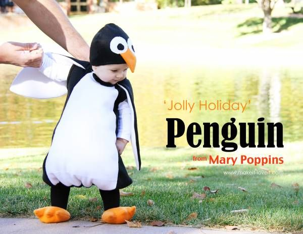 Выкройка пингвина костюма