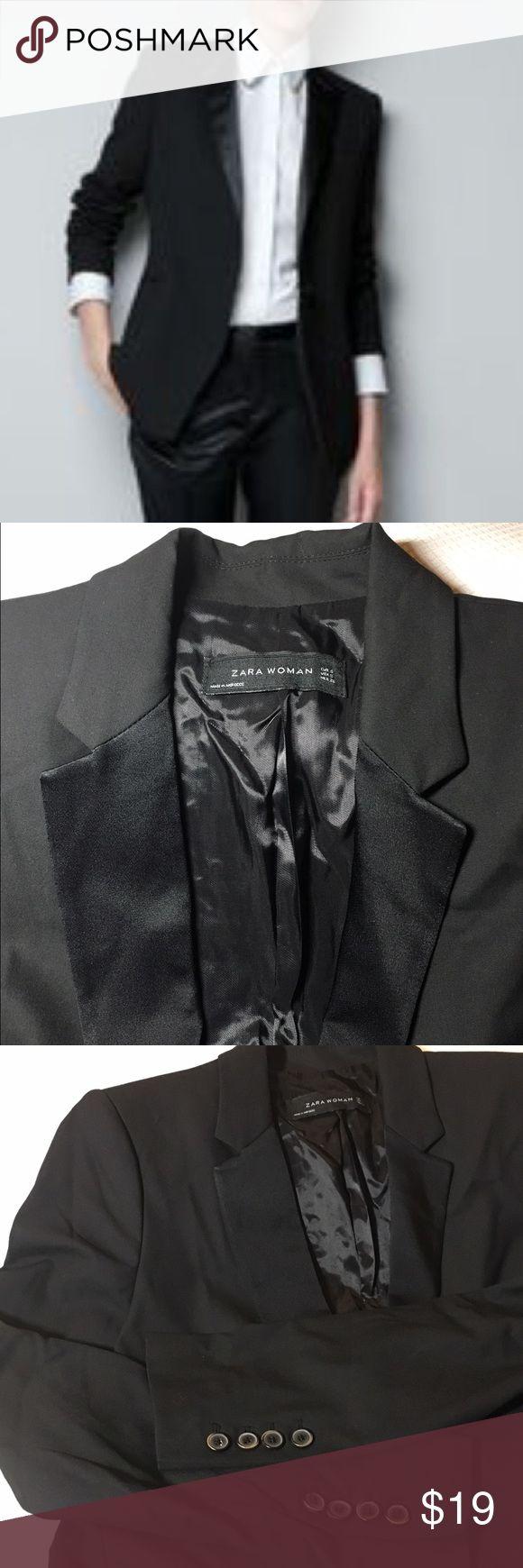 NEW‼️ZARA BLAZER‼️SALE‼️LAST ONE M size NEW ZARA BLACK BLAZER Zara Jackets & Coats Blazers