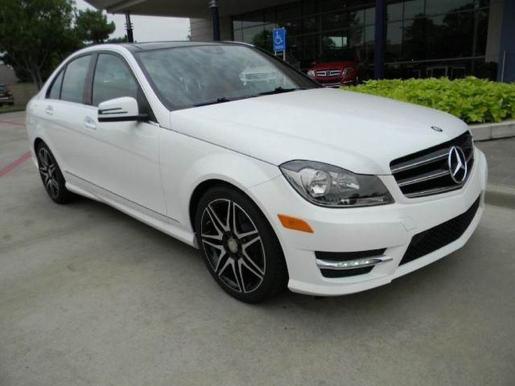 New 2013 mercedes benz c class c250 sedan polar white so for 2013 mercedes benz c class c250 sport