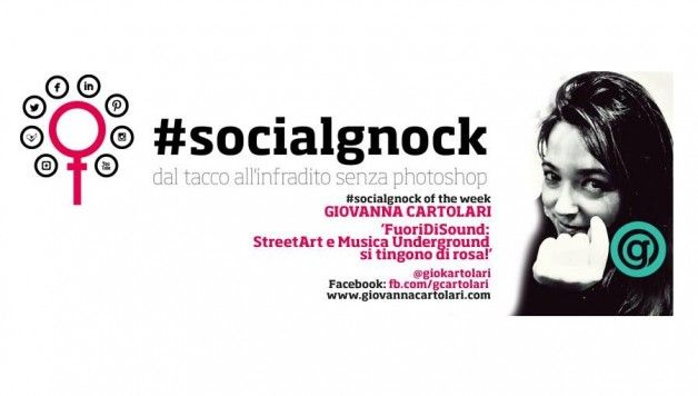"Ma voi ""addetti e addette ai lavori"", lo sapevate che Guerrilla Marketing e Marketing Non Convenzionale nascono dalla Street Art? ce lo svela Giovanna Cartolari, #socialgnock of the week. leggetevi qui tutta l'intervista, la faccia buffa... merita ;) http://www.stilefemminile.it/socialgnock-of-the-week-giovanna-cartolari/"