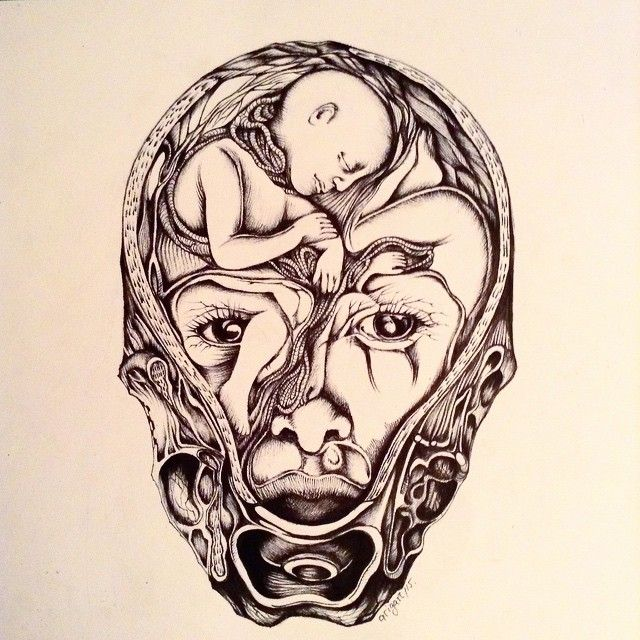 #art #arigart #illustration #instaartist #inkdrawing #indianink #instaink #ink #surrealism #face #picture #женщина #graphicart #graphic #blackandwhite #близнецы #artist #drawing #sketch #графика #blackwhite #иллюстрация #беременность #чернобелое #рисунок #woman #искусство #topcreator #baby #twins