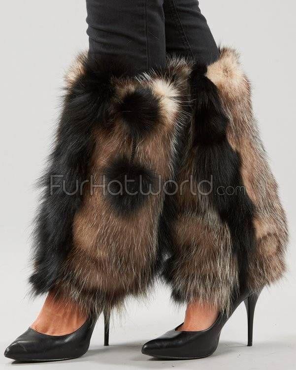 Pelzstulpen aus Opossumfell #Pelz #FurFetish #Fetisch