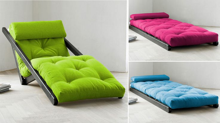 They're a cheap and easy way to add some extra sleeping space to your apartment, but futons are a sure sign that you're either in college, just graduated from college, or can't stop reliving college. If you're looking for a slightly more sophisticated way to accommodate guests, like an adult, this incredibly comfy-looking Figo lounger transforms into a bed for one--in style.