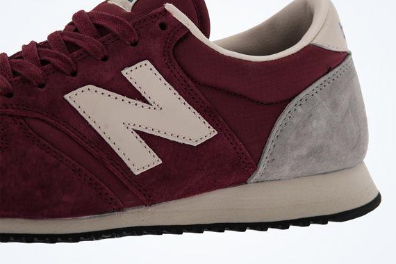new balance 420 burgundy grey 3 New Balance 420   Burgundy   Grey