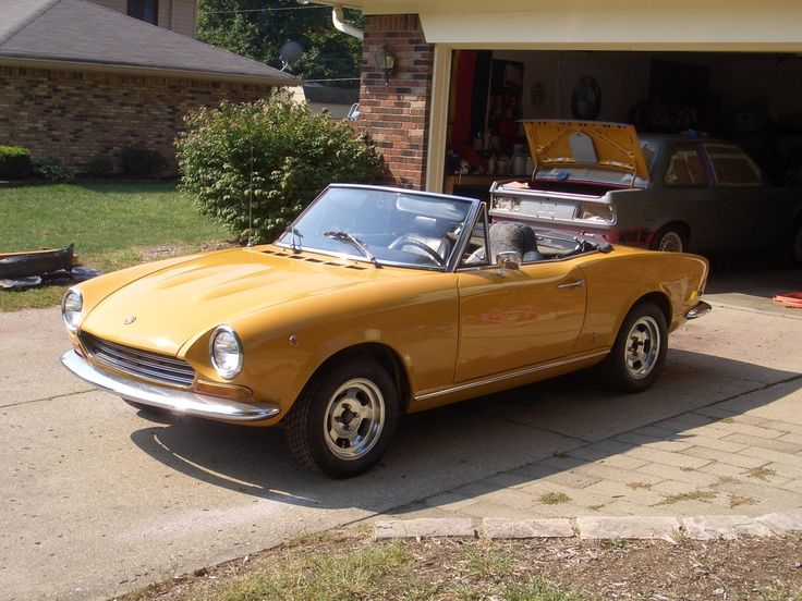 fiat 124 spider 1969 fiat pinterest fiat 124 spider fiat and cars. Black Bedroom Furniture Sets. Home Design Ideas