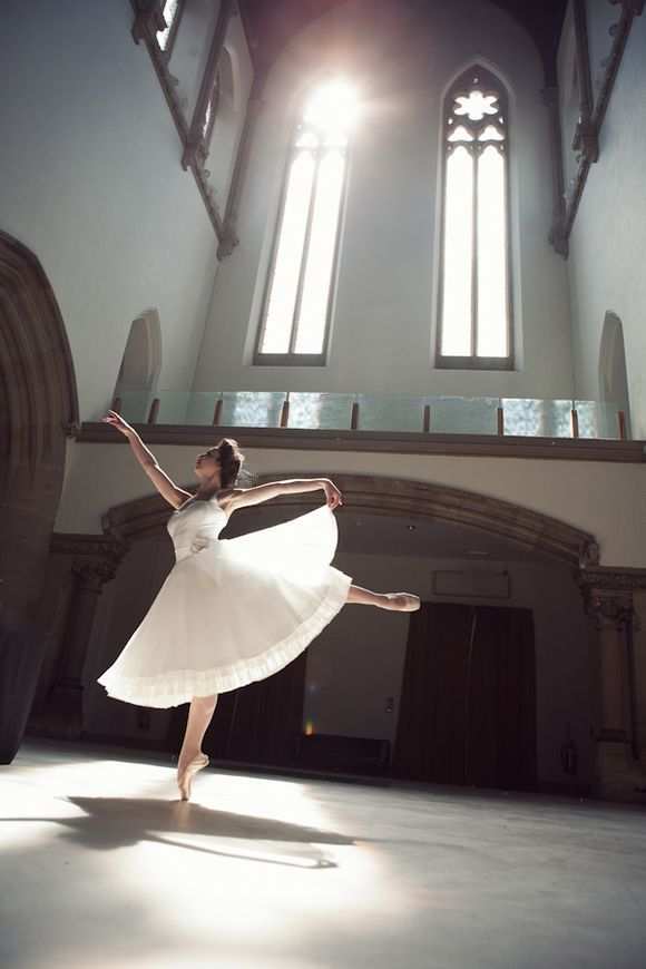ballerina in a wedding dress-everything I've ever dreamed of....