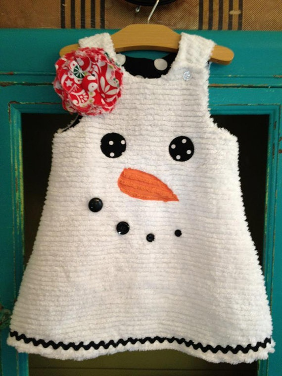 SNOWMAN Holiday Winter Chenille Snowman Jumper