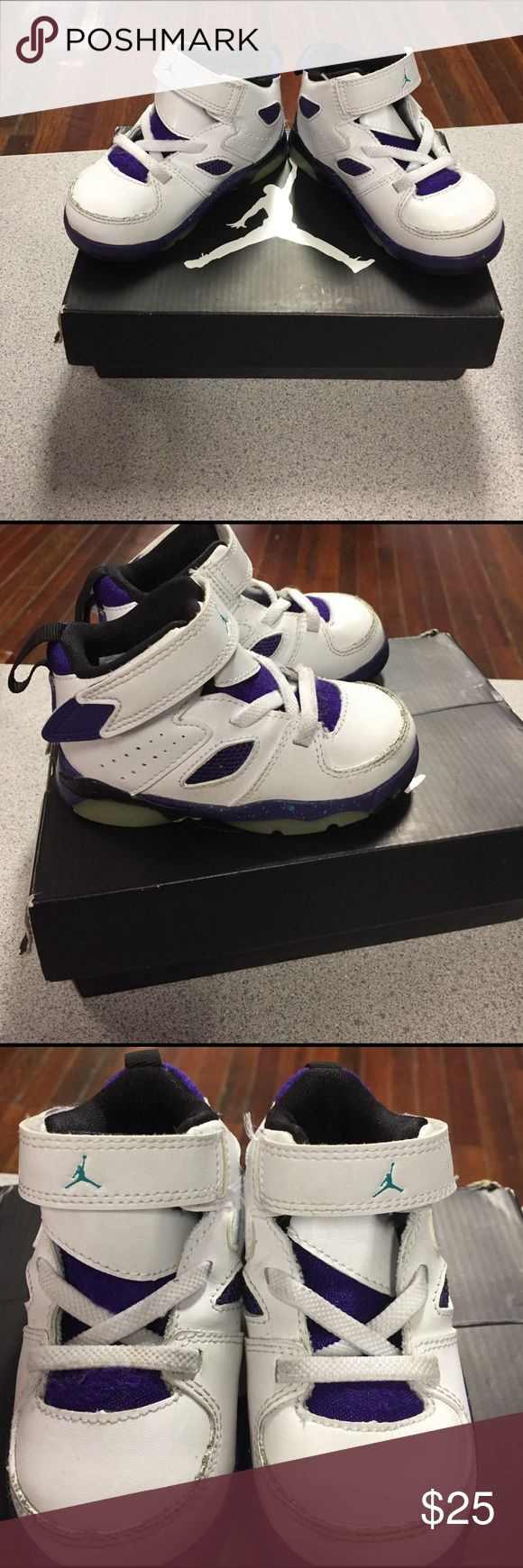 Baby jordans Very nice! Great condition! Toddler size. Jordan Shoes Sneakers