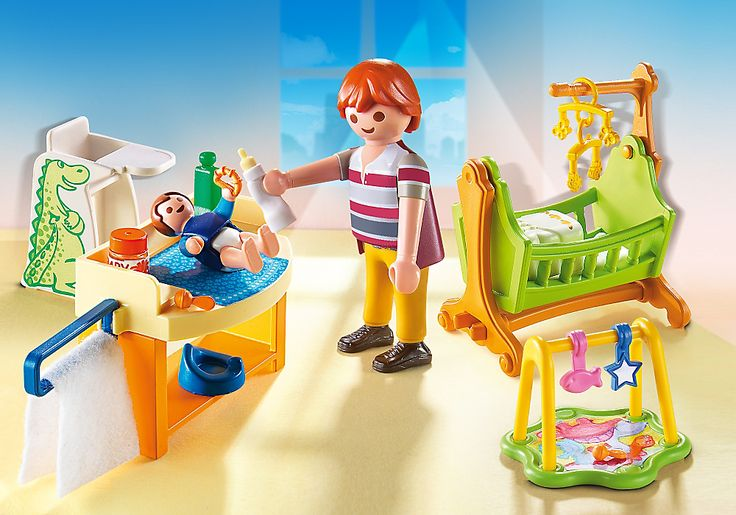 Baby Room with Cradle - 5304 - PLAYMOBIL® USA