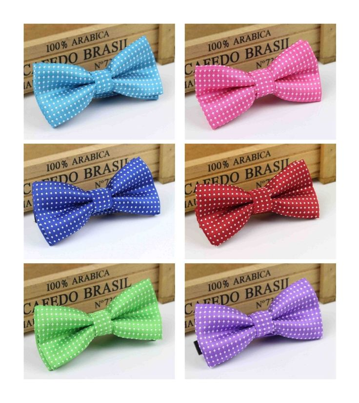 PolkaDot+Pet+BowTies+    Collar:+10''-16''+approx.  Bow:+4''+x+2''    Material:+Polyester,+Cotton,+Plastic+Clip+Closure+    Condition:+Brand+New+