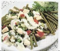 Svet receptov: Šalát zo zelenej fazuľky