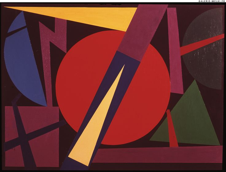 17 best images about auguste herbin cubism on pinterest for Auguste herbin