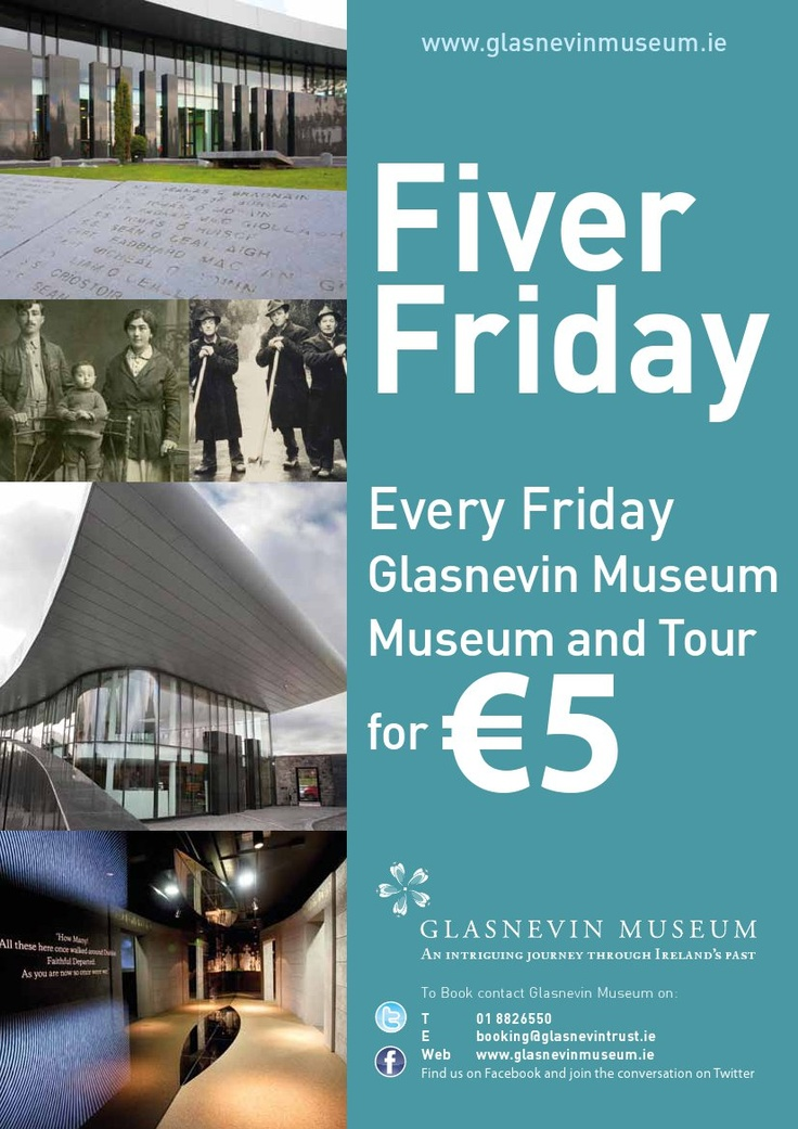 Fiver Friday at Glasnevin Museum: Thingstodo Fiverfriday