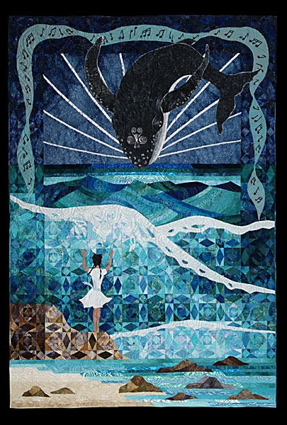 The Whale Rider by Judy Eselius seen at Cover to Cover Quilters