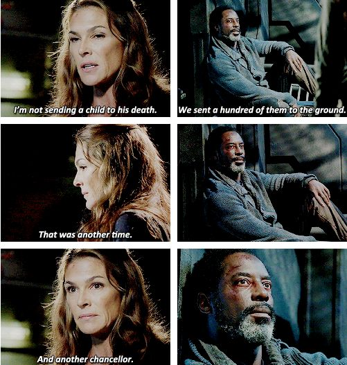 100 Movies 100 Quotes: The 100 - Abby & Jaha #Season2