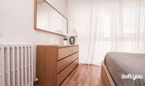 #proyectosantalo #iloftyou #interiordesign #ikea #barcelona #lowcost #bedroom #malm #ribba #stave #asele #matilda