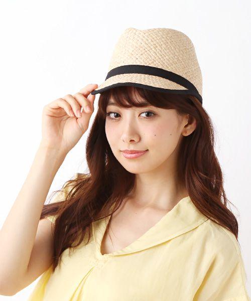 ☆SANTELLI FRANCESCA HAT(ハット)   NIMES/ニーム のファッション通販サイト - セレクトスクエア