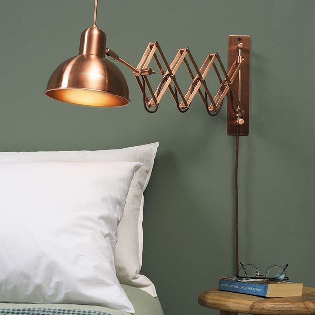Our Aberdeen Wall Light Makes A Perfect Bedside Lamp For Reading
