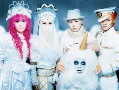 here's another japanese band: psycho le cemu. cosplay!