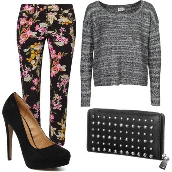 Pantalones de flores ♥