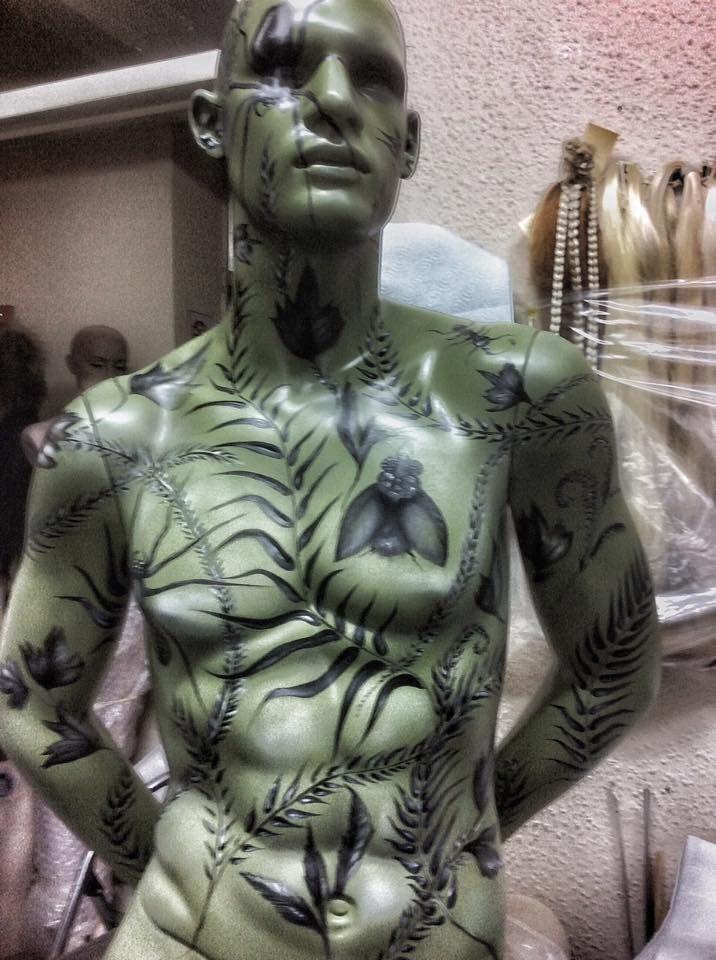 230 besten halloween displays mannequins bilder auf for Zimmerdeko london