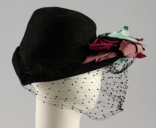 Hat ca. 1943 | American | The Met