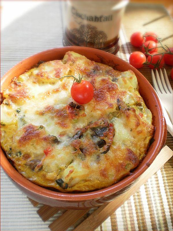 Cartofi noi cu ciuperci si mozzarella | Retete Culinare - Bucataresele Vesele