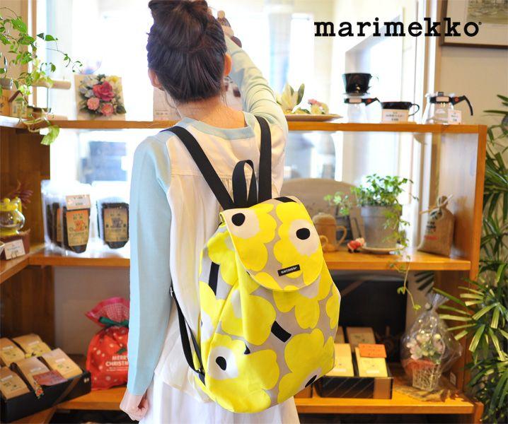 【楽天市場】marimekko マリメッコ JAPAN EXCLUSIVE BAGS 2015UNIKKO ウニッコ/NIPPU バックパック/リュック・5253142279【2015春夏】:Crouka(クローカ)