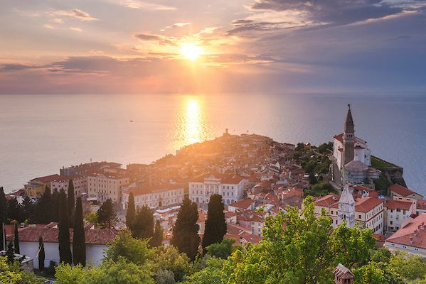 Photos of Piran on the Mediterranean Coast of Slovenia - Yes that's right Slovenia is in the Mediterranean  #slovenia #piran #travelphotographer