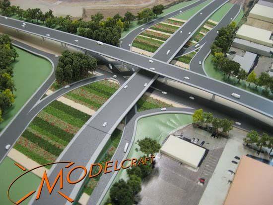 1:750 Architectural Model by Modelcraft (NSW) Pty Ltd