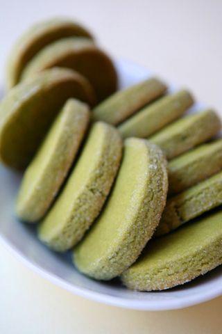 Green tea cookies (will need to translate recipe)