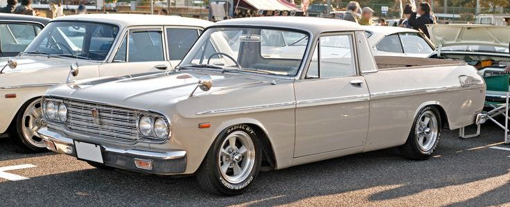 '64 Toyota Crown pickup. Would hit.