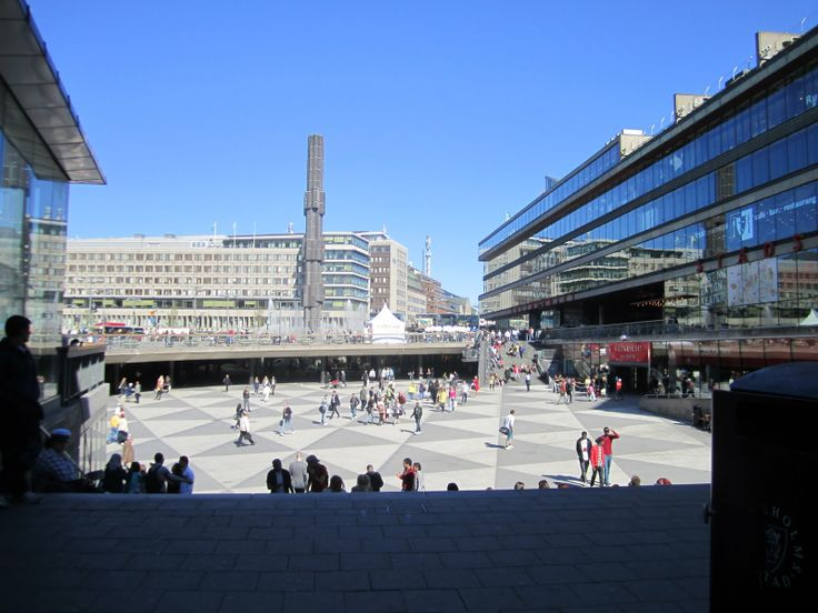Sergel's Torg (Square, or marketplace) Stockholm