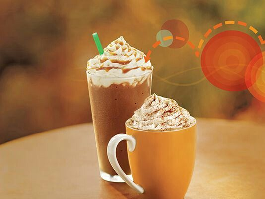 PUMPKIN SPICE LATTE - I brew coffee, then add 1 TBSP grass-fed butter, 1 TBSP coconut oil, 2 TBSP pumpkin puree, caramel extract, stevia and pumpkin pie spice to taste. All of this goes in a blender for 30 seconds or more.  Delicious and filling.