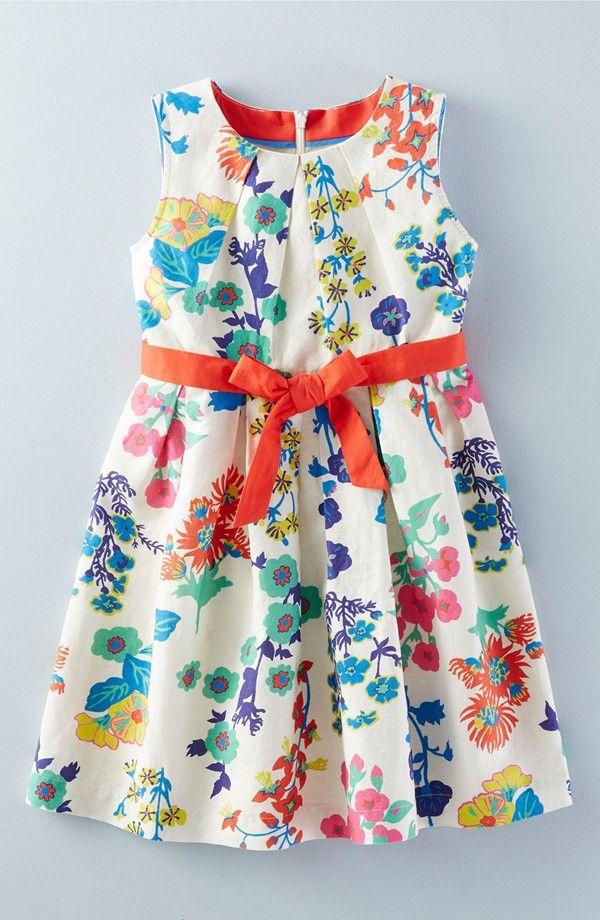 'Vintage' Sleeveless Dress (Toddler Girls, Little Girls & Big Girls)
