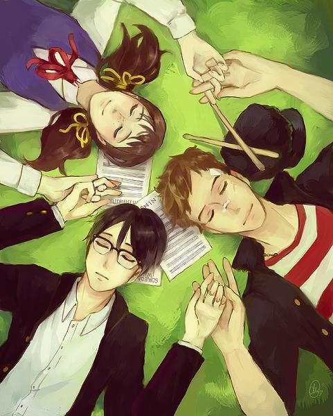 Sakamichi no Apollon. Probably one of the greatest animes I've ever seen. Jazz music? Japanese language? Anime? I'm so down. In my top 10 for sure.