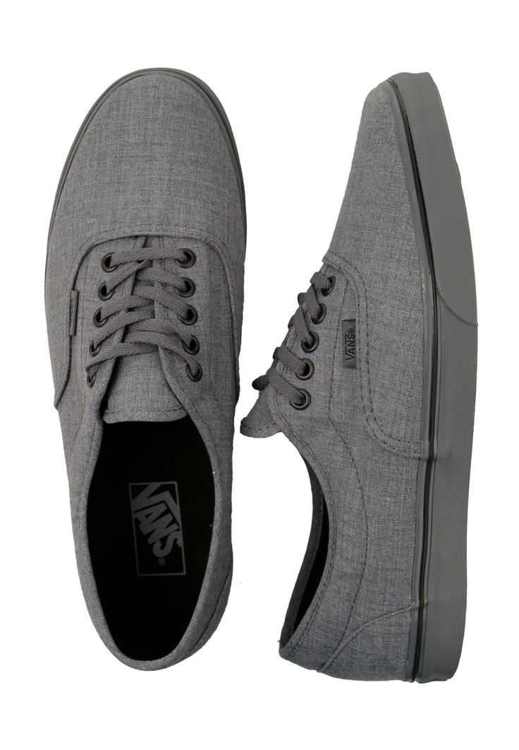 lacing. the latest addition to my vans collection. vans dressed up LPE shoe in smoked pearl gray
