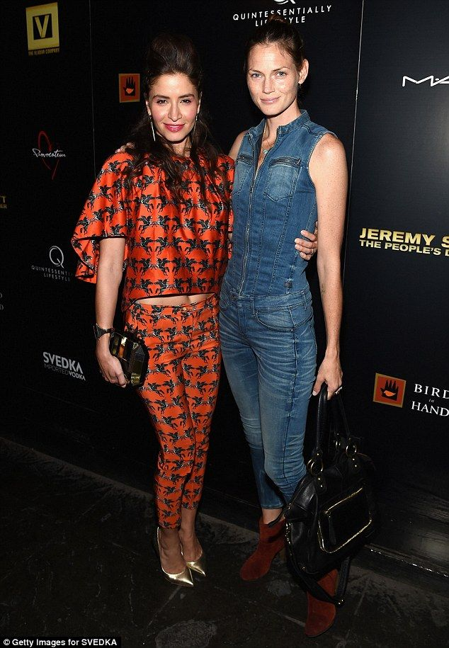 Catting around: Mercedes Masohn and Mini Anden of Chuck Verses The Cat Squad fame didn't want to miss the premiere after party at Provocateur