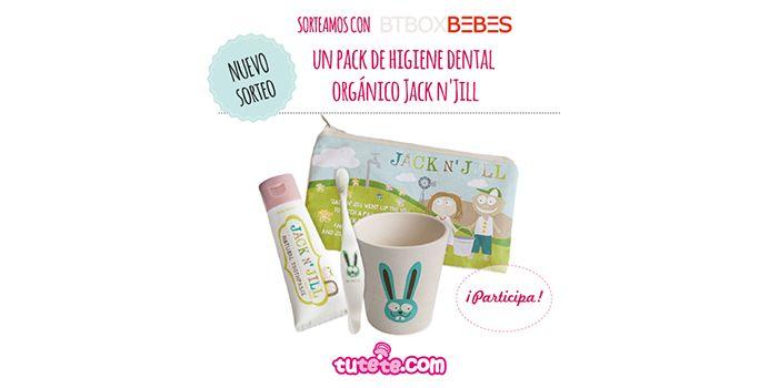 Sorteo packs Jack N'Jill: productos orgánicos para tu bebé - Chupetes Personalizados - El blog de Tutete
