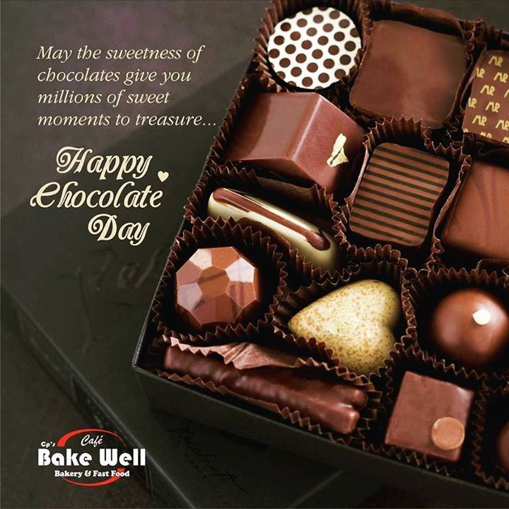 May the sweetness of chocolates give you millions of sweet moments to treasure... #happy #chocolate #day #love #valentines #friendship #sweet #hotelcrownpalace #cafebakewell #bakewell #bestplacetoeatever http://ift.tt/1TajHSR - http://ift.tt/1HQJd81