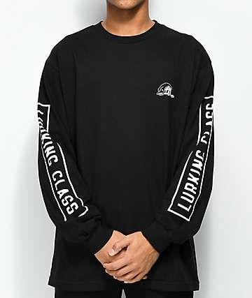 f5f8813b2317 Sketchy Tank Lurking Class Black Long Sleeve T-Shirt | •fabrics• in ...