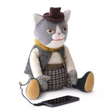 KUCHI-PAKU IRIIRI Cat Rabbit Speaker by IDEA International