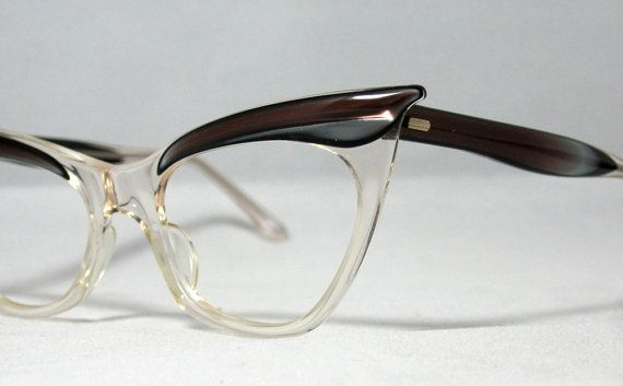 Vintage cat eye glasses by CollectableSpectacle on Etsy.