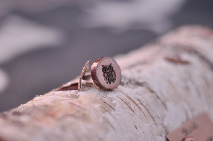 The Once Was // Wood Ring