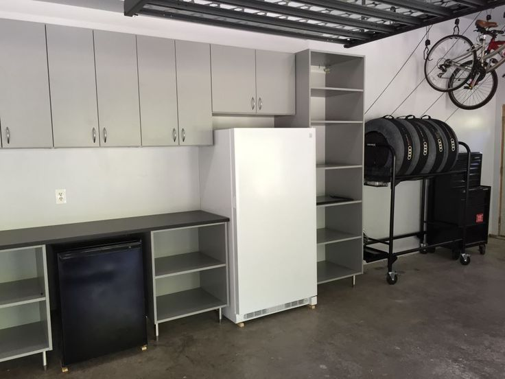 Custom Garage Organization By Closets For Life   This Garage Has It All!  Cabinets And