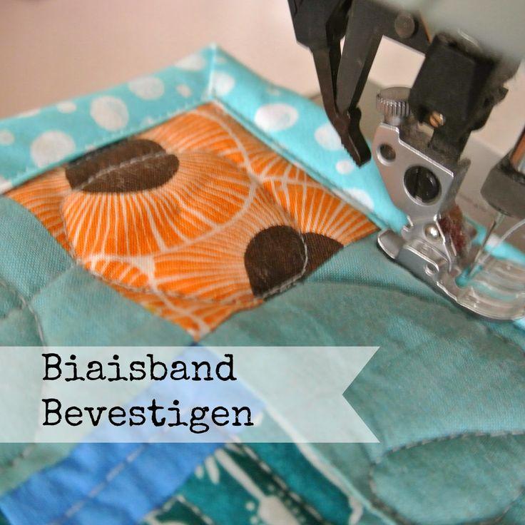 Sew Natural Blog: Techniek: Biaisband Bevestigen