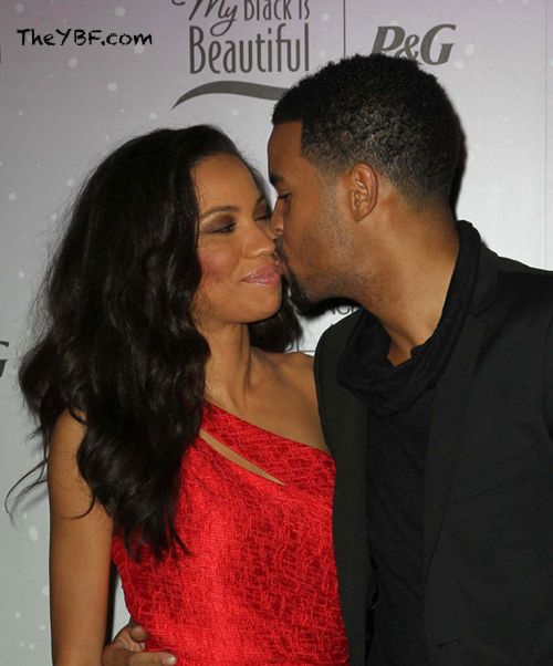Jurnee Smollett and her husband Josiah Bell.