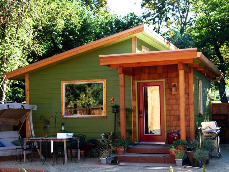 From JP and Alice: Green small house